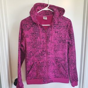 Under Armour Graffiti Zip Up Hoodie